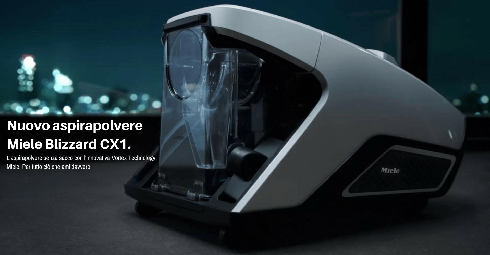Nuovo aspirapolvereMiele Blizzard CX1.
